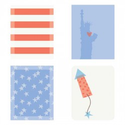 Patriotic - Planner Stickers - PR
