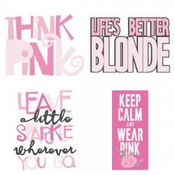Think Pink - Affirmations - CS