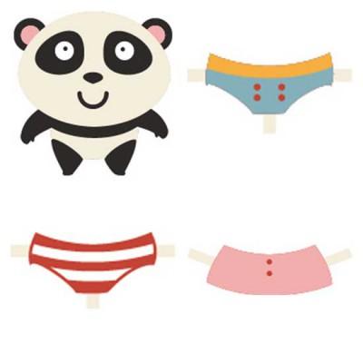 Mr. Panda - Dress Up - CS