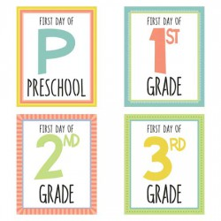 Milestones - Growing Up - First Day - CS