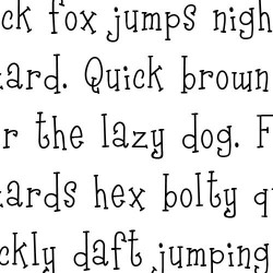 LD Going Nuts - Font