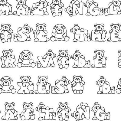 LD Huggy Bear - Font