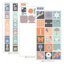 Modern Calendar - Cut Bundle