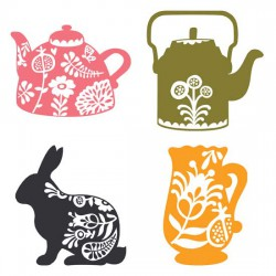 Spring Tea - Silhouettes - GS