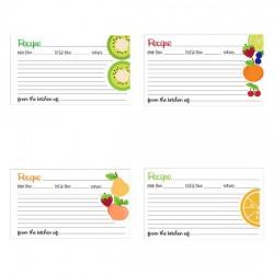 Tutti Frutti - Recipe Cards - PR