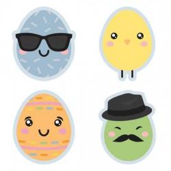 Kawaii Easter - Eggs - GS