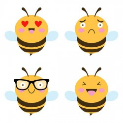 What's the Buzz - Emo Bees - GS