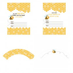 What's the Buzz - Party Printables - PR