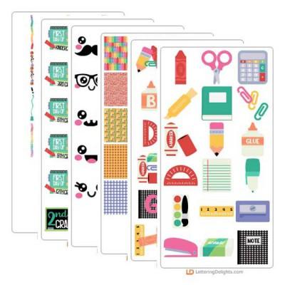 A La Carte - School - Graphic Bundle