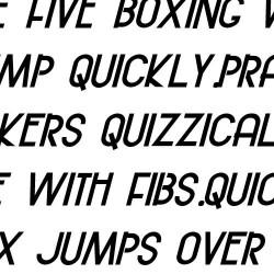 ZP Bodacious Italic - FN