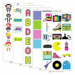 80's Pop - Graphic Bundle