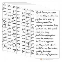 Scriptorious 3.0 Font Bundle