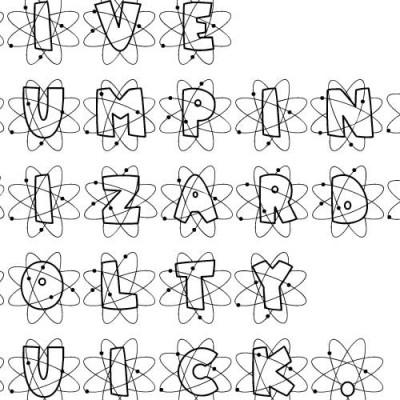 LD Atomic - Font