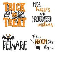 Happy Halloween - Sentiments - GS
