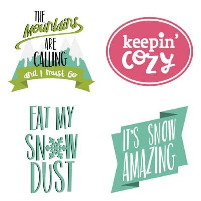 Winter Cuties - Sentiments - GS