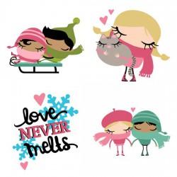 Winter Cuties - Love - GS