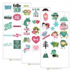 Winter Cuties - Cut Bundle