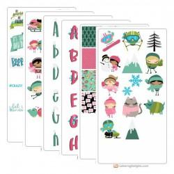 Winter Cuties - Graphic Bundle