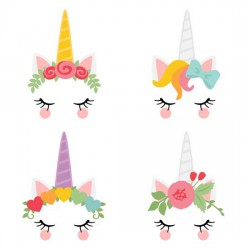Unicorn Dreams - Faces - GS