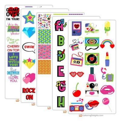 80's Love - Graphic Bundle