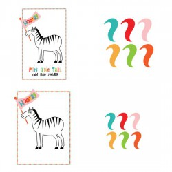 Love Pet - Animal Party - Pin the Tail - PR