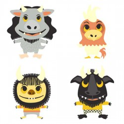 Wild One - Monsters - GS