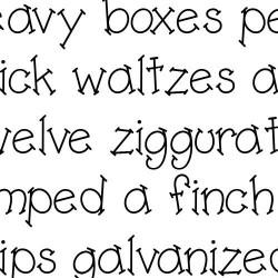 LD Slash Serif - Font