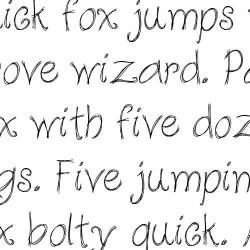 LD Chicken Scratch - Font