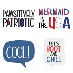 Schmoopsie Poo - Independence Day - Phrases - GS