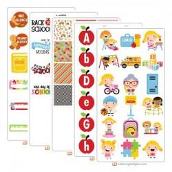 Zander School Days - Graphic Bundle