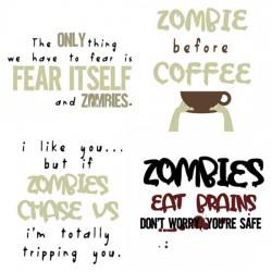 Walking Zombies - Aphorisms - CS