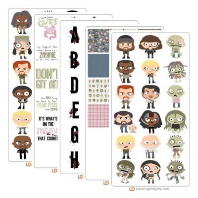 Walking Zombies - Graphic Bundle