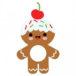 Gingerbread Spread - Lip Balm Holder - CP