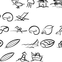 LD Symbol Beach - Font