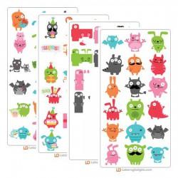 Little Monsters - Cut Bundle