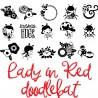DB Lady in Red - DB -  - Sample 2