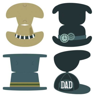 Hats Off To Dad - Gift Card Holders - CP