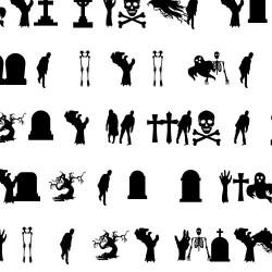 DB Ghouls in the Graveyard - DB