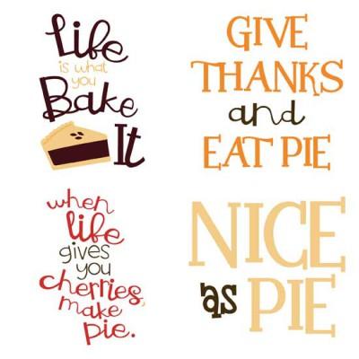 Pie Y'All - Sayings - GS