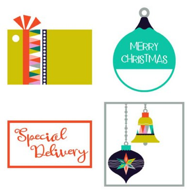 Modern Christmas - Tags - PR