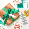 Modern Christmas - Tags - PR -  - Sample 1