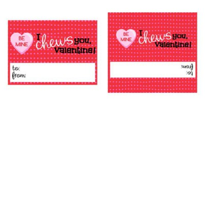 Sweet Valentine - Gum Wrapper  - PR