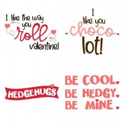 Hedge Hugs - Sayings - GS