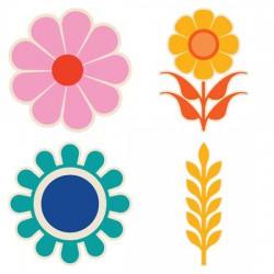 Groovy Love - Florals - CS