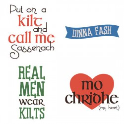 A Wee Bit Scottish - Phrases - GS
