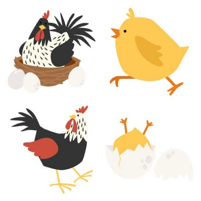 Clucks and Peeps - GS
