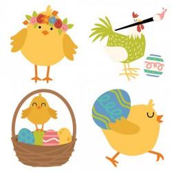 Clucks and Peeps - Easter - CS