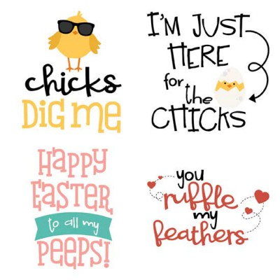 Clucks and Peeps - Puns - GS