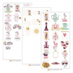 Queen of Hearts - Cut Bundle