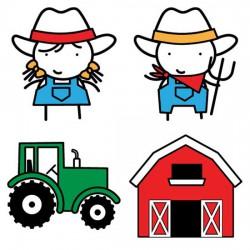 Stickies - On The Farm - CS